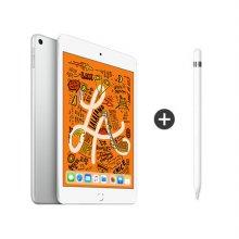 [패키지특별할인] 보호필름 증정) iPad mini 5세대 7.9 WIFI 256GB 실버 MUU52KH/A + 애플펜슬 1세대