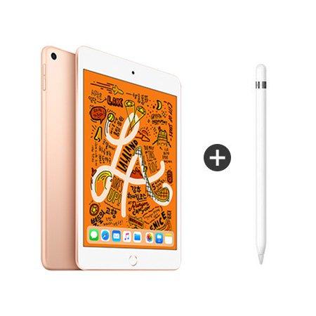 [패키지특별할인] iPad mini 5세대 7.9 WIFI 256GB 골드 MUU62KH/A + 애플펜슬 1세대