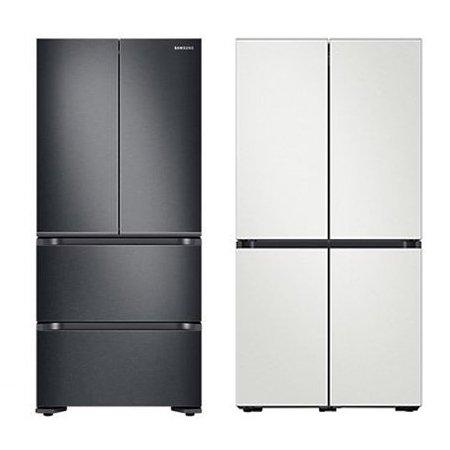 스탠드형 김치냉장고 [584L] + 비스포크 4도어 냉장고 [868L]