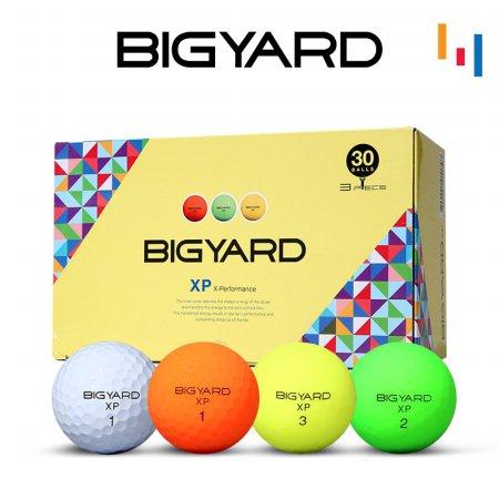 넥센 빅야드 XP30알 3피스 골프공 유광/비비드 2종택1