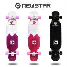뉴스타 롱보드 42인치 입문형 컴플릿 스케이트보드