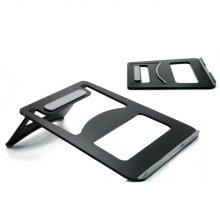 알루미늄 노트북 거치대 접이식 받침대 (블랙)_3901B3