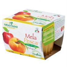 [네추럴누바] 유기농 사과,복숭아 퓨레 100gX2개
