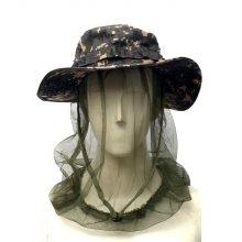 군인용품 얼굴 모기장 밤낚시 얼굴방충망 모기장 모자