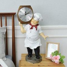 데일리데코 요리사 장식 시계