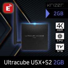 Ultracube U5X+S2 2GB 안드로이드 4K 셋톱박스/미라캐스트 지원