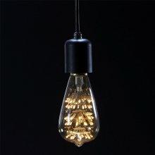LED 에디슨 롱 눈꽃전구 2W