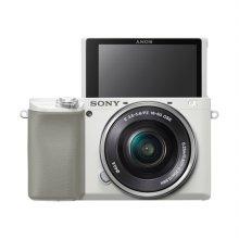 [정품등록이벤트]알파 A6100L 미러리스 카메라 렌즈KIT[화이트][본체+16-50mm]
