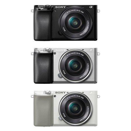 알파 A6100L 미러리스 카메라 [본체+16-50mm]