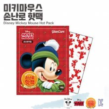 디즈니 미키마우스 휴대용 손난로 핫팩 1매
