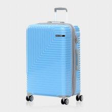 미치코런던 쿠키 확장형 블루 24 캐리어 여행가방