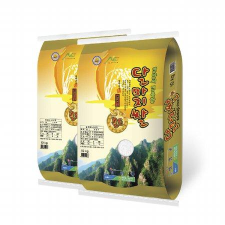 [19년산] 영암 하이아미 달마지쌀 골드 10kg+10kg/유기농/특등급