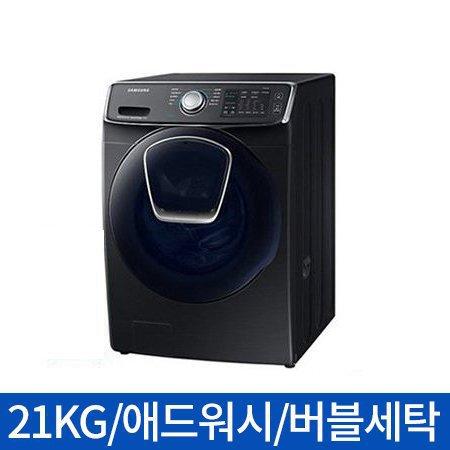 [*중고보상*] 드럼세탁기 WF21N8750TV [21KG/애드워시/초강력워터샷/무세제통세척/세제자동투입+]