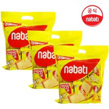 나바티 리치즈 치즈크림웨이퍼 450g x 3개