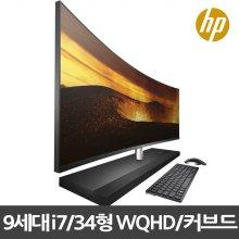 [메모리 무상 추가장착/사은품] HP ENVY Curved 34-b173kr 일체형PC GTX1050 i7-9700T