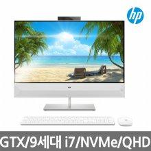 파빌리온 27-xa0181kr 일체형PC/9세대 i7/NVMeSSD 256GB/27형QHD/WIN10