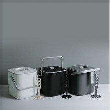 심플 음식물 쓰레기통 3리터 1개(색상랜덤)
