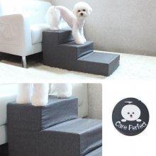 강아지 애견 계단 속방수 3단 스텝 보카시