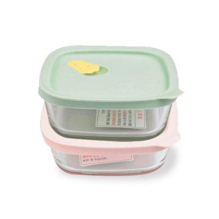 햇쌀밥용기 410ml*2개