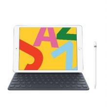 [키보드+애플펜슬 패키지] iPad 7세대 10.2 WIFI 32GB 실버 MW752KH/A