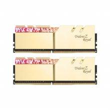 DDR4 32G PC4-25600 CL14 Trident Z ROYAL RGB 골드 (16Gx2)