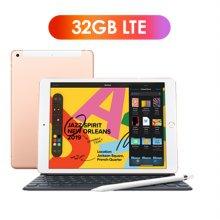 [키보드+애플펜슬 패키지] iPad 7세대 10.2 LTE 32GB 골드 MW6D2KH/A