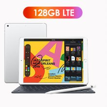 [키보드+애플펜슬 패키지] iPad 7세대 10.2 LTE 128GB 실버 MW6F2KH/A