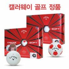 캘러웨이골프 CHROME SOFT 크롬 소프트 트루비스 4피스 골프볼-12알