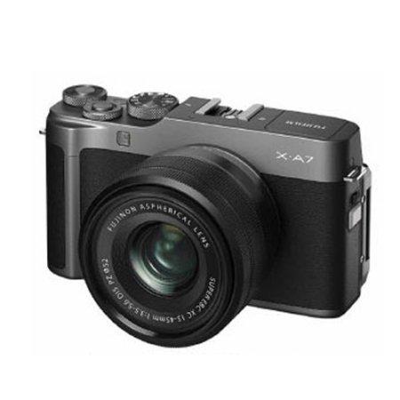 X-A7 미러리스 카메라 렌즈KIT[다크실버][본체+15-45mm]