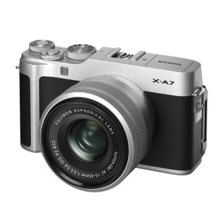 X-A7 미러리스 카메라 렌즈KIT[실버][본체+15-45mm]