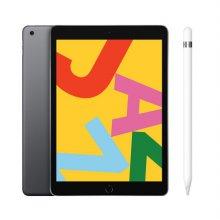 [펜슬 패키지] iPad 7세대 10.2 WIFI 128GB 스페이스 그레이 MW772KH/A  + 1세대 애플펜슬 MK0C2KH/A