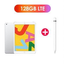 [패키지특가] 필름증정) iPad 7세대 10.2 LTE 128GB 실버 MW6F2KH/A + 1세대 애플펜슬