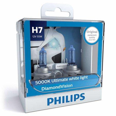 필립스 다이아몬드비전 5000k(화이트색)_H7