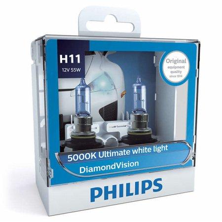 필립스 다이아몬드비전 5000k(화이트색)_H11