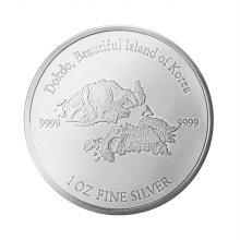 한국금거래소 1온스 실버 독도 불리온 메달