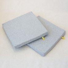 [무료배송/2개세트] 미끄럽지않은 메모리폼 방석(블루)