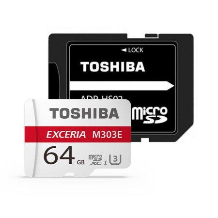 micro SDXC CLASS10 UHS-I U3 M303E V30 A1 98MB/s 64GB