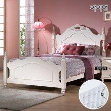 에디아 엔틱 퀸 침대+포켓매트 CA