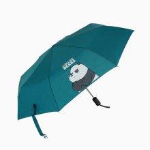 캐릭터 완전 자동 단우산 판다 키즈 아동 어린이 우산_49A4D1