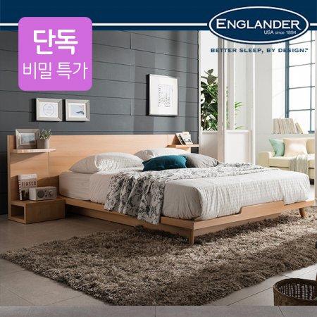 [비밀특가]스미스 평상형 침대(NEW E호텔 양모 7존 독립매트Q