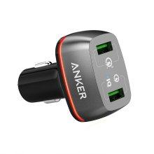 앤커 파워드라이브 플러스 차량용 충전기[블랙][A2224H11][USB 2포트]