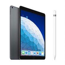 [패키지] iPad Air 3세대 10.5 WIFI 64GB 스페이스 그레이 MUUJ2KH/A + 애플팬슬 1세대