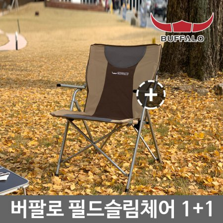 필드 슬림체어2 1+1 /캠핑의자 낚시의자 접이식