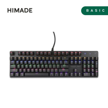앱코 X 하이메이드 기계식 키보드 [ 적축 ]