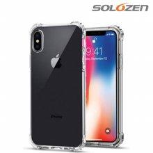 [솔로젠] 1+1 에어쿠션 범퍼 케이스 갤럭시 A90 5G (A908)