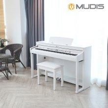 [뮤디스]전자 디지털피아노  MLP-500 + 2인용의자 목재해머건반