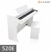 [뮤디스]전자 디지털피아노 520E + 헤드폰 어린이피아노