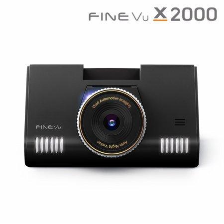 [히든특가] 자가장착 파인뷰 X2000 2채널블랙박스 32GB