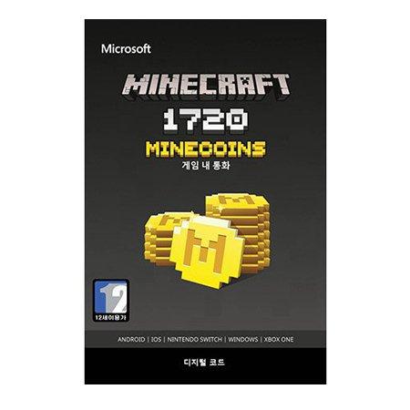 마인크래프트 1720 미니코인 [ XBOX ONE 및 Windows10 ] [ 디지털 코드 ]