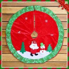 산타 눈사람 트리 스커트(58cm) 트리장식 트리받침_4CF99A
